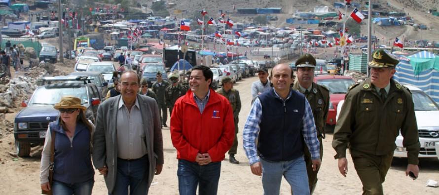 Autoridades regionales inspeccionan seguridad de la Pampilla de san Isidro