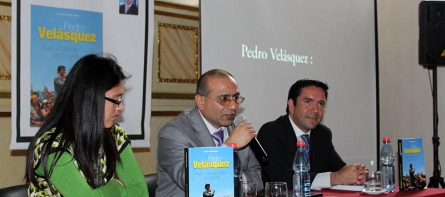 Lanzan libro sobre Pedro Velásquez y anuncian jornada de presentación en Vicuña
