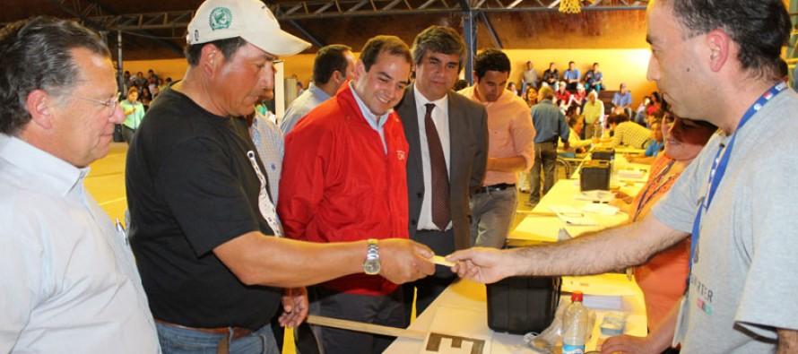 Vicuña finaliza proceso de entrega de Bono Sequía con un total de 1606 beneficiados