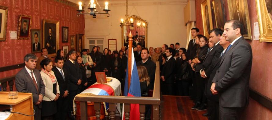 Comunidad elquina despide al Hijo Ilustre de Vicuña Juan Antonio Aguirre Cortés