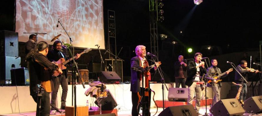 Inti Illimani se presenta en Vicuña luego de 40 años y ante más de 8 mil personas