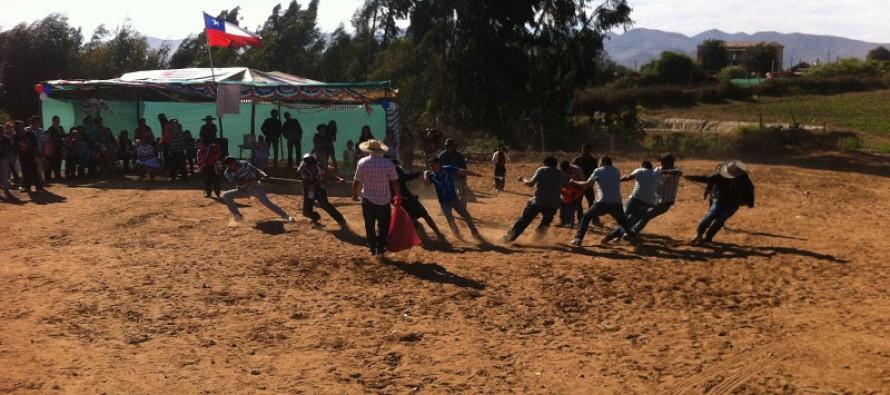 Localidad de El Romero celebró sus Fiestas Patrias con tradiciones y juegos populares