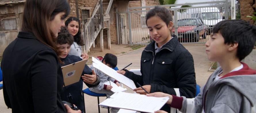 Encuentros Mistralianos Escolares contaron con la presencia de alumnos de Pisco Elqui