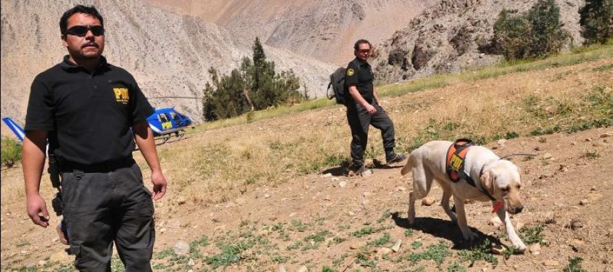 Culminan labores de rastreo en Cochiguaz para  buscar a excursionista Marcos Roldan