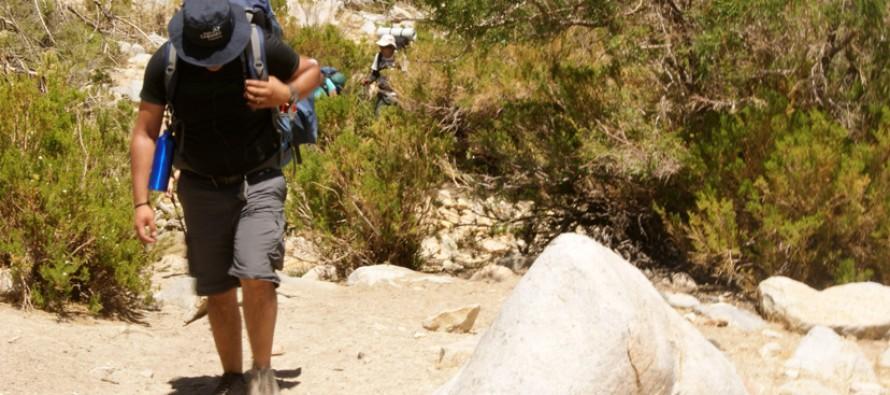 Estudiantes de turismo de INACAP realizan caminata entre Huanta y Alto del Carmen