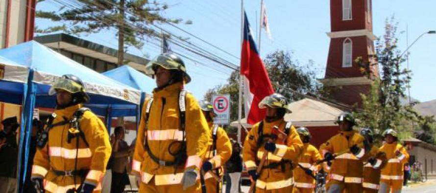 Vicuña contará con brigada de combate de incendios forestales de CONAF