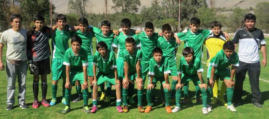 Destacan campaña de selección sub 13 en campeonato regional ANFA