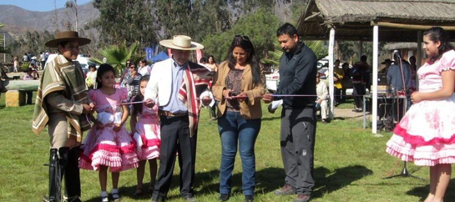 Artesanos y productores elquinos expusieron en la Primera Feria Costumbrista de Marquesa