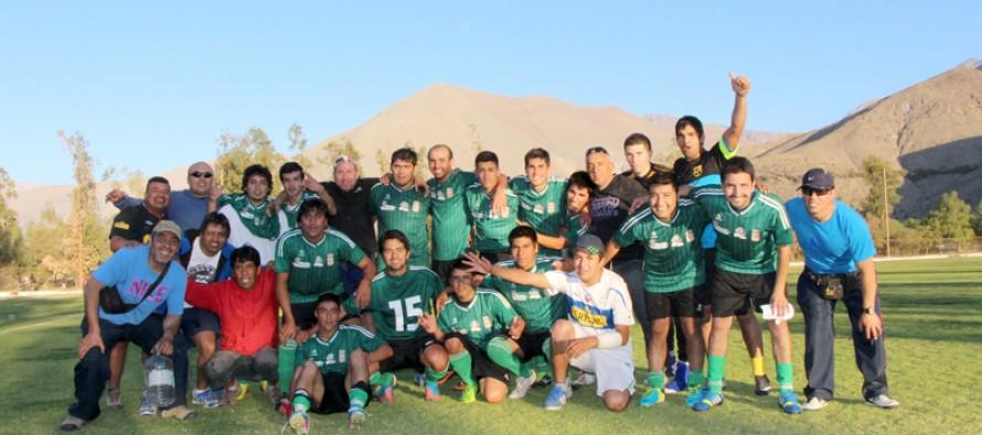 Selección de Vicuña ya está entre los cuatro mejores de la región y enfrentará a Los Vilos