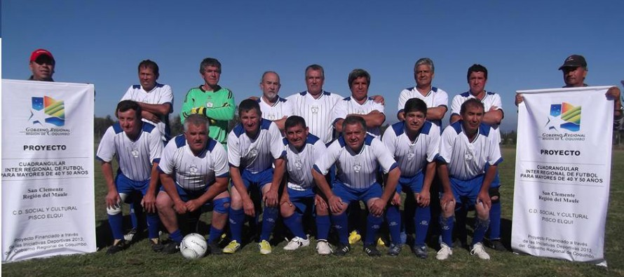 Seniors del Club Pisco Elqui realizaron gira deportiva en la Región del Maule