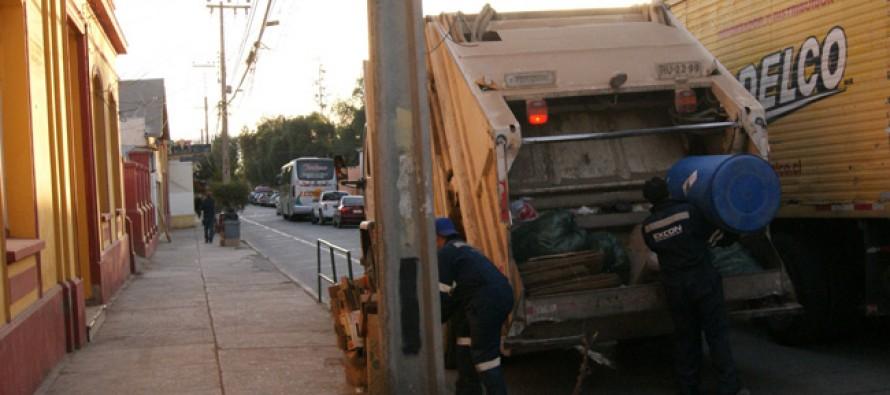 Pese al paro se retirarán residuos sólidos de la comuna de Vicuña entre el jueves y sábado