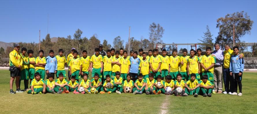 Escuela de fútbol municipal busca nuevos talentos elquinos luego de un año de receso