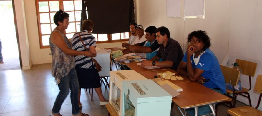 Candidata de la Nueva Mayoría Bachelet obtiene un total de 56,38% en Paihuano