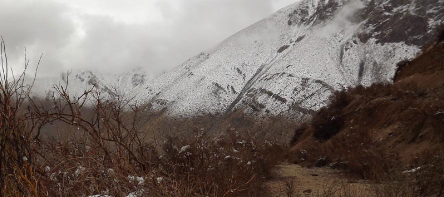 Anuncian probabilidad de chubascos y tormentas eléctricas en la pre-cordillera del Elqui