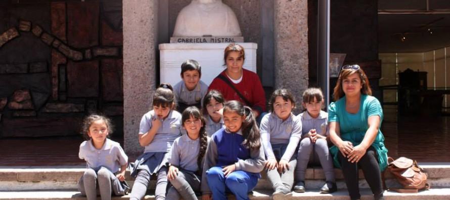 Escuelas Unidocentes del Sector Rural Visitan el Museo Gabriela Mistral en su mes aniversario