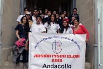 Jóvenes de Andacollo realizan jornada de misiones en la localidad de Pisco Elqui