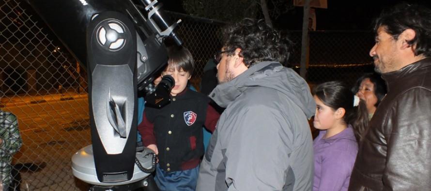 Observatorio Cerro Tololo realiza taller astronómico a primer Barrio Sustentable de la región