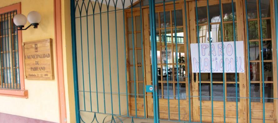 Municipios continúan en paro e inician tercera semana sin acuerdo con Gobierno