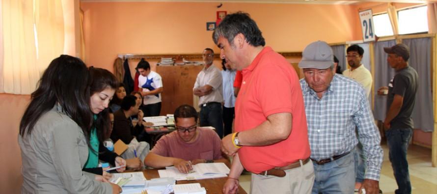 Alcalde de Vicuña destaca cantidad de votantes y porcentaje de Bachelet que alcanzó el 60%