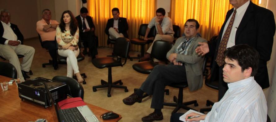 Consejeros se reúnen por primera vez con representantes de la Provincia de Corrientes