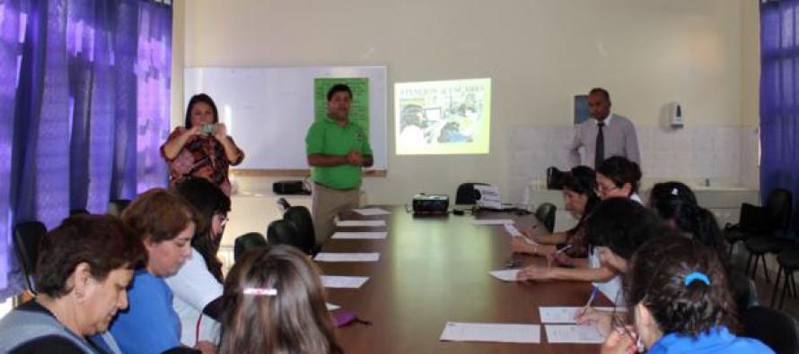 Incentivan el crecimiento profesional de municipales a través de talleres en Paihuano
