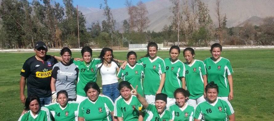 Este sábado el Fútbol Femenino de Vicuña define su campeón del Torneo de Clausura 2013