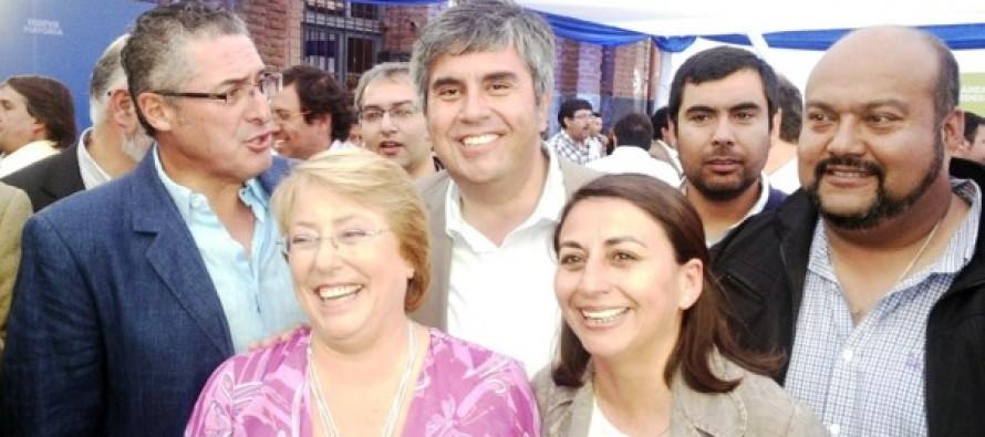 """Líderes de la zona se reúnen con Michelle Bachelet para analizar el """"balotaje"""""""