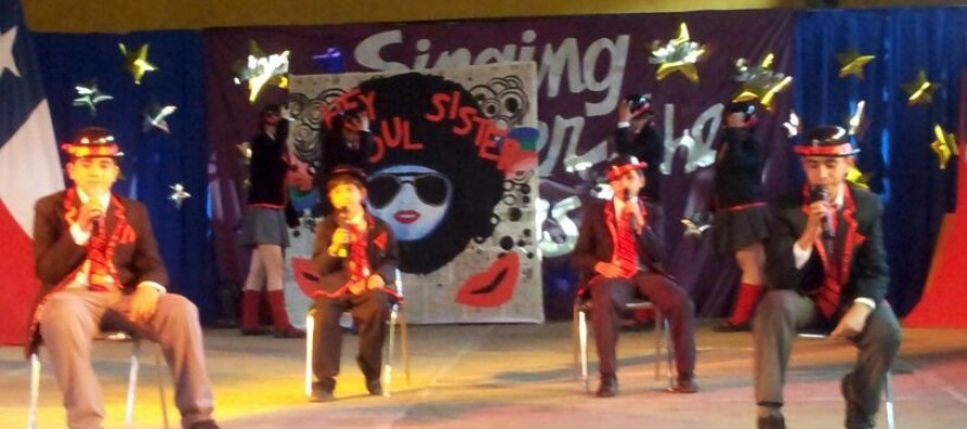 Escuela de Montegrande fue la ganadora de la 5ta versión del Festival de la Canción en Inglés