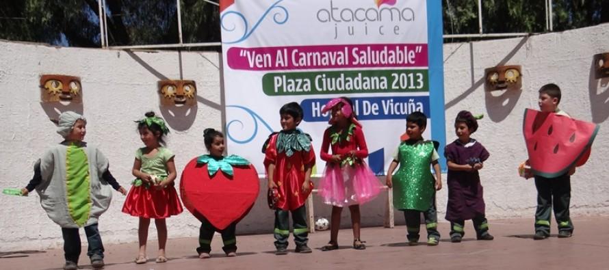 """Incentivan la alimentación sana y la actividad física en """"Plaza Ciudadana de Salud"""""""
