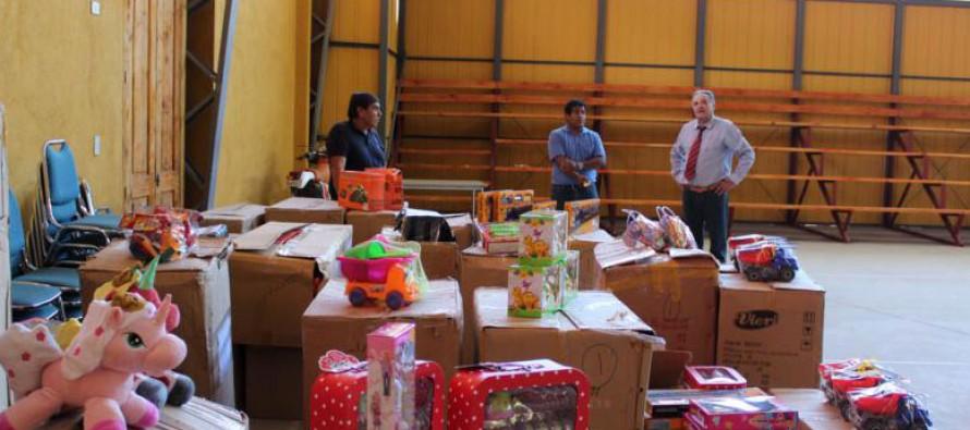 En Paihuano preparan fiesta de Navidad para los niños y niñas de la comuna
