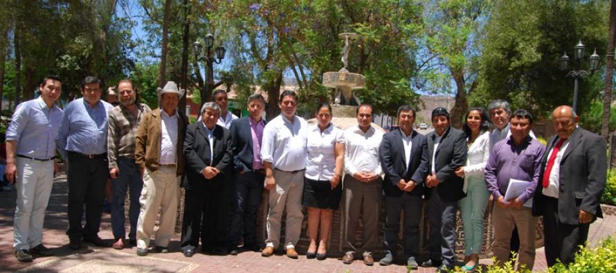 Autoridades de Vicuña toman protagonismo en Asociación de Municipios Rurales de la región