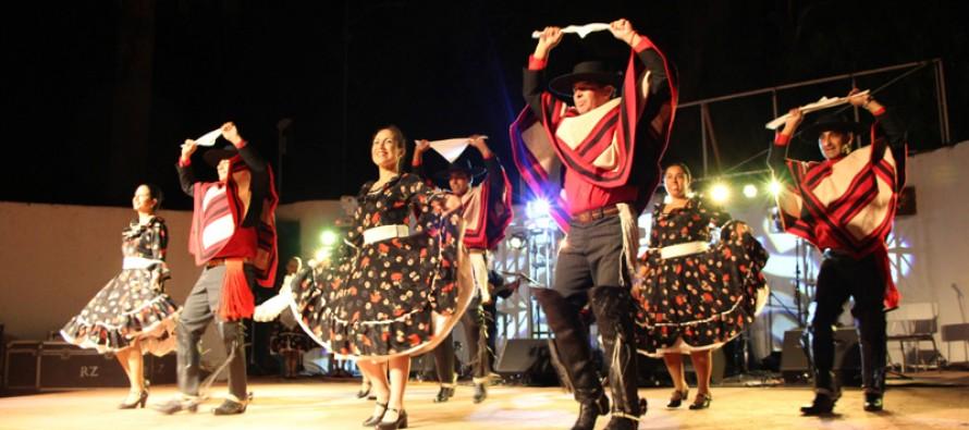 Con invitados de diversos puntos del país se realizó Tercer Encuentro Nacional de Folclore en Vicuña