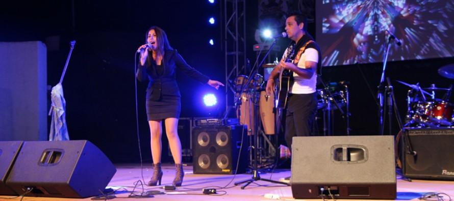 """A Santiago se fue el primer lugar del Festival de la Canción """"Río Elqui"""" de Vicuña"""