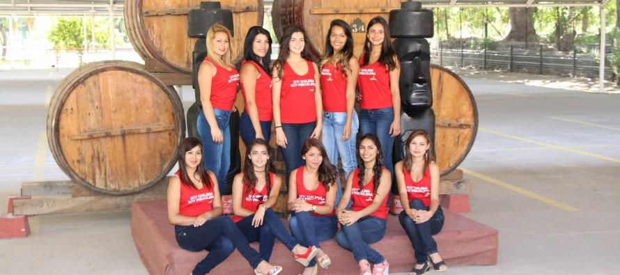 10 candidatas lucharán por quedarse con el auto cero kilómetro del carnaval Elquino 2014
