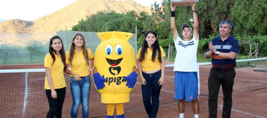 """A La Serena se fue el primer lugar del II Abierto de Tenis """"Copa Canihuante"""" 2014"""