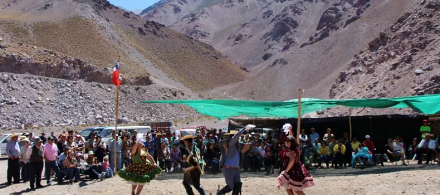"""A más de 3 mil metros de altura se realizó el Primer Festival de Alta Cordillera """"El Chivato de Oro"""""""