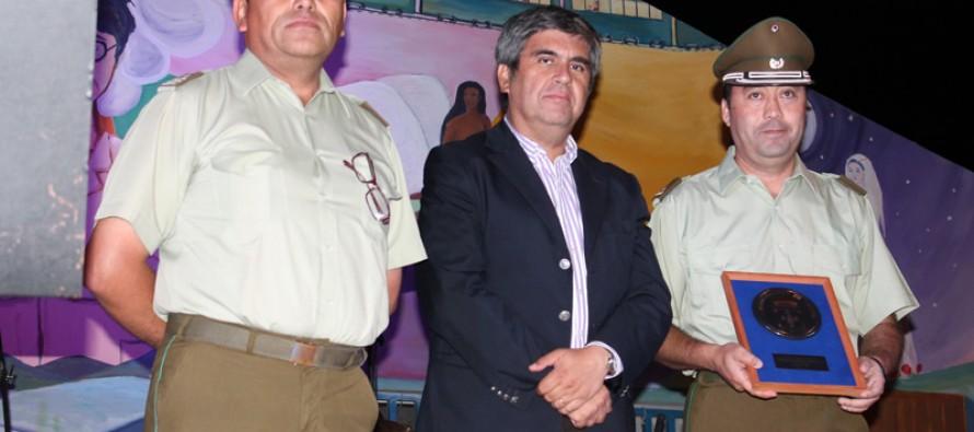 Reconocen labor realizada por el ex comisario de Carabineros en su gestión en Vicuña