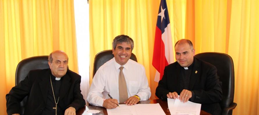 Cerro de La Virgen mejorará su entorno a través de convenio con la Fundación de la Cruz del Milenio
