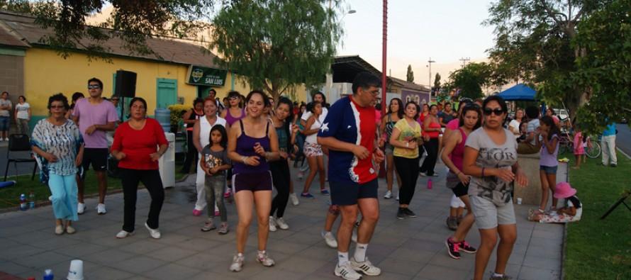 El deporte se toma los espacios públicos en Vicuña con actividades del Carnaval Elquino 2014