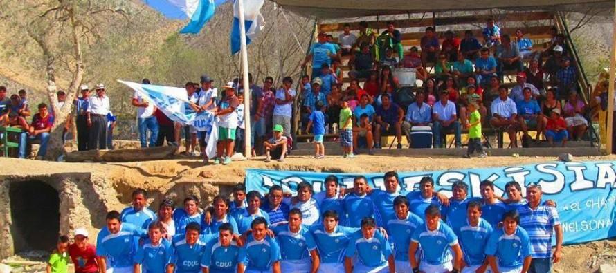 CD Lourdes nuevamente vuelve a grita campeón con la copa de honor del  ANFA 2013