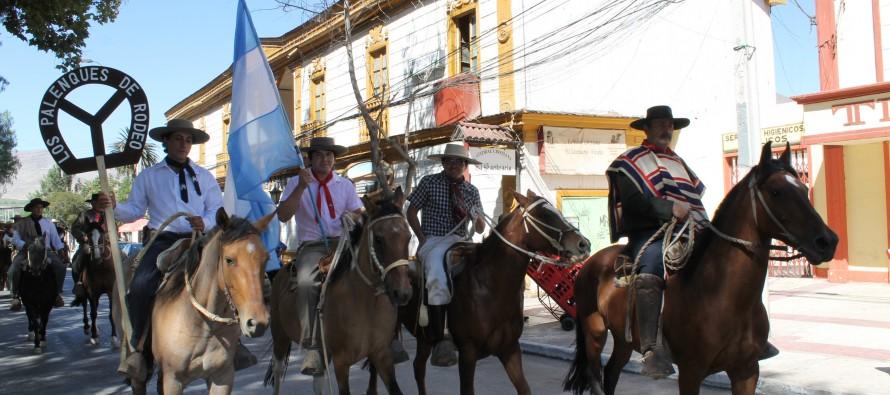 Gauchos y huasos mantienen la hermandad a través de la Cabalgata a la Difunta Correa