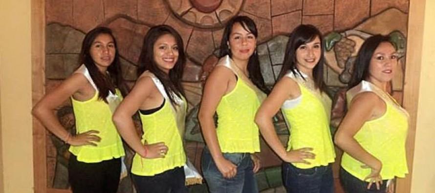 Cinco candidatas luchan por convertirse en reina del Carnaval del Sol 2014 en Paihuano