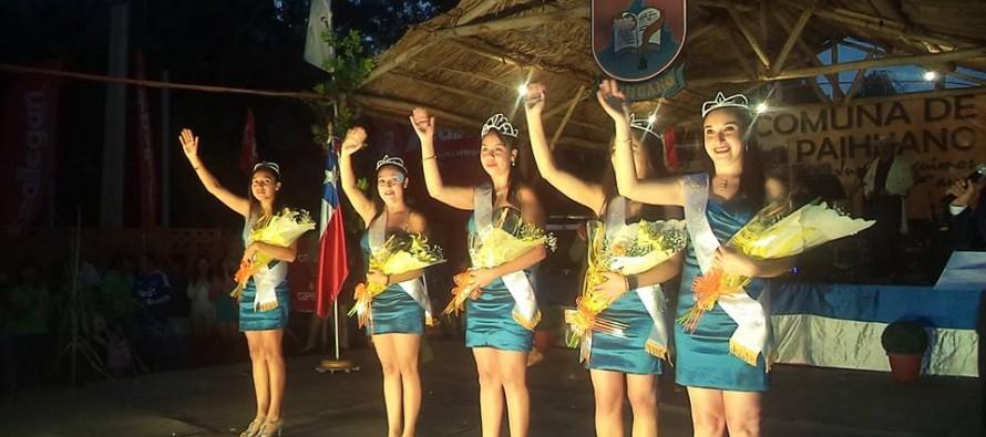 Carnaval del Sol de Paihuano corona a su reina 2014 y realiza cierre de actividades veraniegas