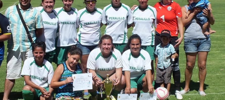 Peralillo y San Juan se unen a través del fútbol femenino disputando copa binacional