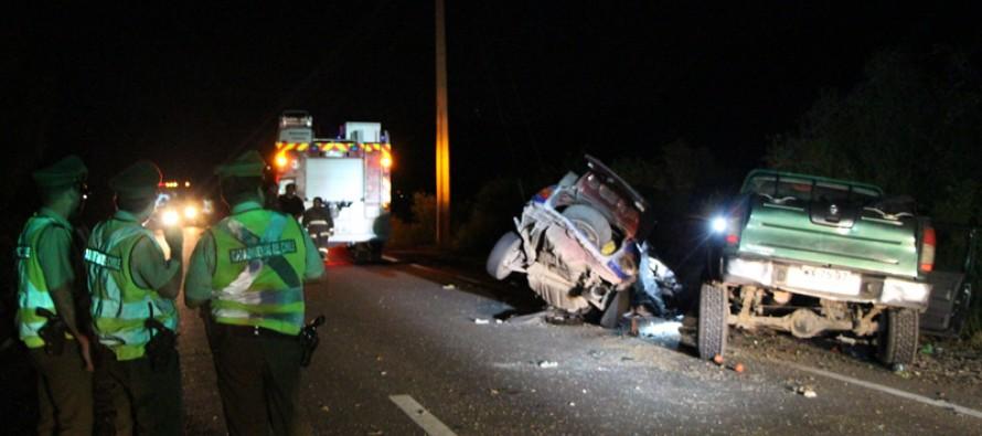 Lamentable accidente deja a dos jóvenes vicuñenses fallecidos en sector de El Almendral