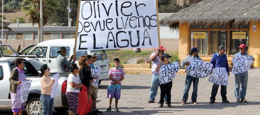 Habitantes de Punta Azul protestan nuevamente por desvío de aguas