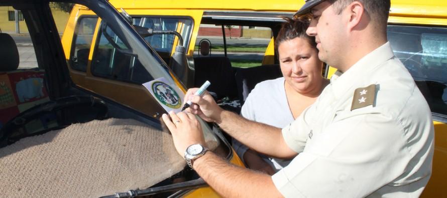 """Lanzan campaña """"Transporte Escolar Seguro"""" En lascomunas de Vicuña y Paihuano"""
