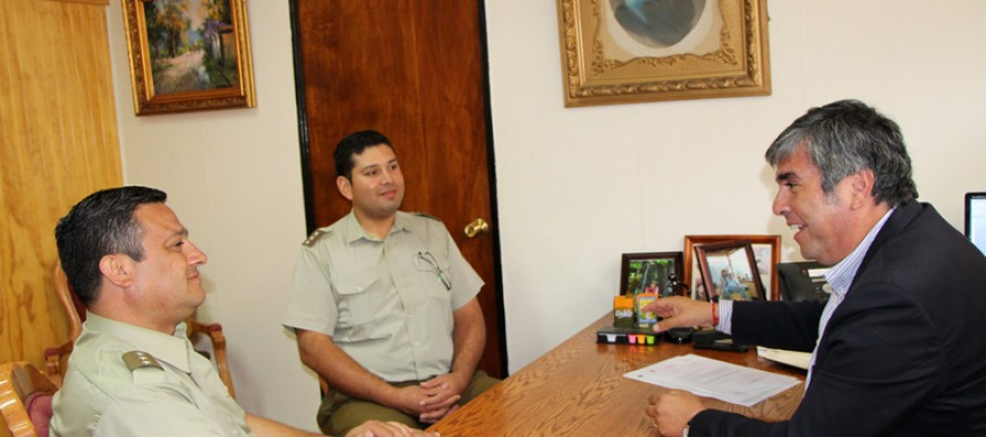 Nuevo Comisario de Vicuña comienza a planificar acciones en el Valle del Elqui para este periodo