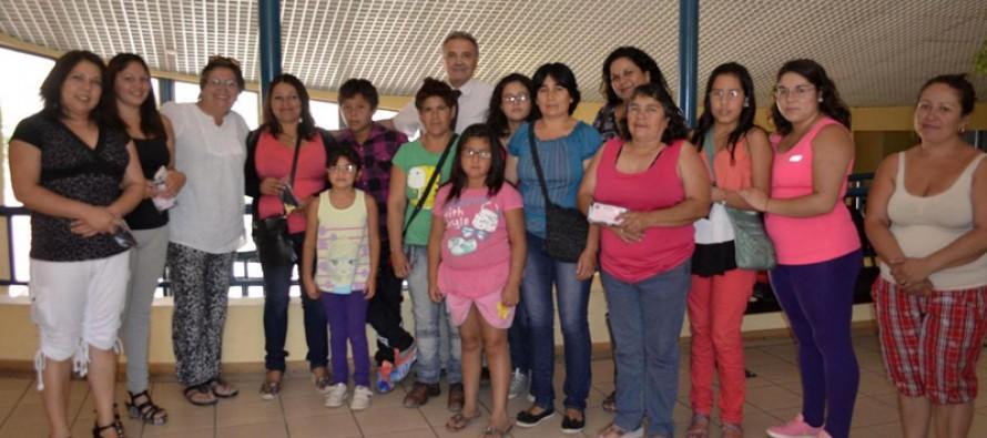 Benefician a 17 alumnos de Paihuano con lentes ópticos