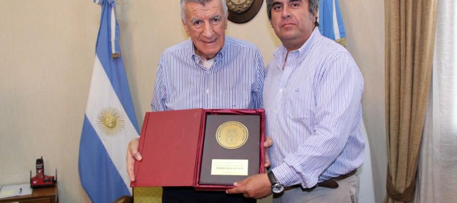 Gobernador Gioja se reúne con alcalde Vera para analizar proyecto de Túnel de Agua Negra